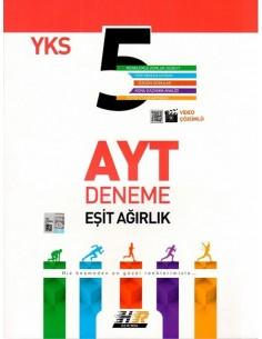 Hız ve Renk Yayınları AYT Eşit Ağırlık 5'li Deneme