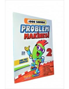 Bilgin Çocuk  Yayınları 2. Sınıf 1000 Soruda Problem Makinesi