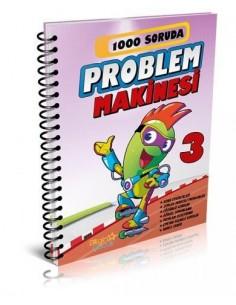 Bilgin Çocuk  Yayınları 3. Sınıf 1000 Soruda Problem Makinesi