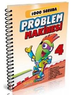 Bilgin Çocuk  Yayınları 4. Sınıf 1000 Soruda Problem Makinesi