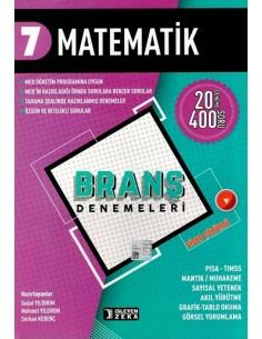 İşleyen Zeka 7. Sınıf Matematik Branş Denemeleri