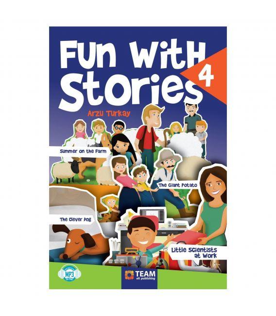 Team ELT 4. Sınıf Fun with Stories Level 4 Hikaye Seti