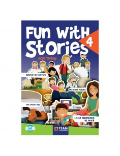 Team ELT 4. Sınıf Fun with Stories Level 4 Hikaye Seti