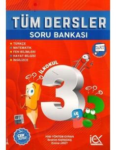 İlk Önce Yayıncılık 3. Sınıf Tüm Dersler Soru Bankası