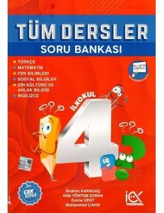 İlk Önce Yayıncılık 4. Sınıf Tüm Dersler Soru Bankası