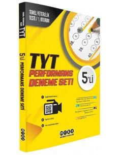Merkez Yayınları TYT Performans 5'li Deneme Seti