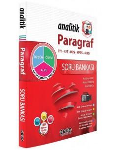 Merkez Yayınları TYT AYT DGS KPSS ALES Paragraf Analitik Soru Bankası