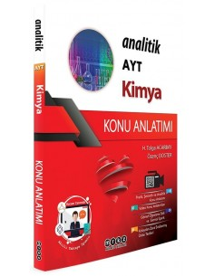 Merkez Yayınları AYT Kimya Analitik Konu Anlatımı
