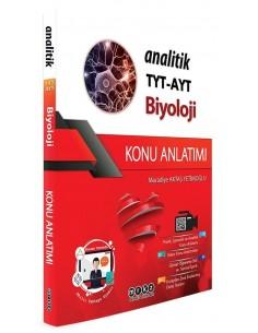 Merkez Yayınları TYT AYT Biyoloji Analitik Konu Anlatımlı