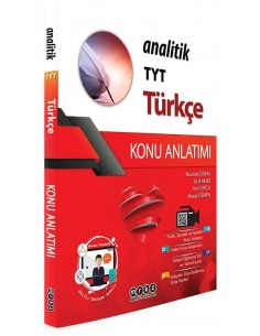 Merkez Yayınları TYT Türkçe Analitik Konu Anlatımlı