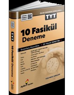 Aydın Yayınları TYT 10 Fasikül Deneme