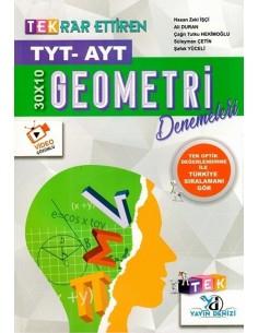 Yayın Denizi TYT AYT Geometri Tekrar Ettiren TEK Serisi Denemeleri