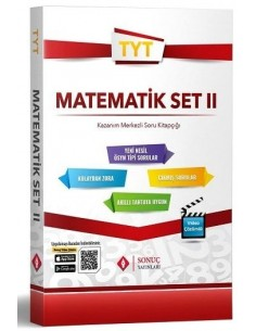 Sonuç Yayınları TYT Matematik Soru Bankası Modüler Set 2
