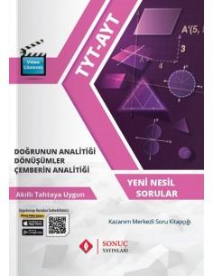 Sonuç Yayınları TYT-AYT Doğrunun Analitiği Dönüşümler Çemberin Analitiği