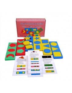 Yuka Kids Geometrik Şekiller ve Öyküler