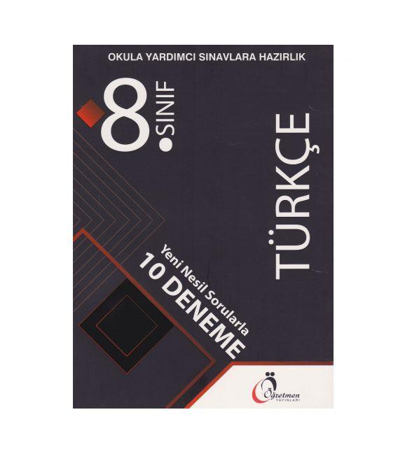 Öğretmen Yayınları 8.Sınıf Türkçe Deneme