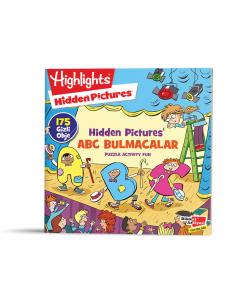 Dikkat Atölyesi Hidden Pictures ABC Bulmacalar