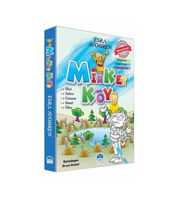 Mirket Köyü (5 Kitap) - Martı Çocuk Yayınları