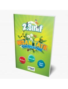Bilgiseli Yayınları 2. Sınıf Nisan Tatil Çalışmaları Kitabı