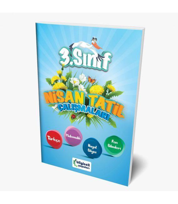 Bilgiseli Yayınları 3. Sınıf Nisan Tatil Çalışmaları Kitabı