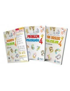 Üçgen Yayınları 4. Sınıf Kampanyalı Tatil Seti (3 Kitap)