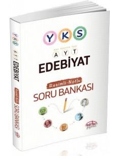 Editör Yayınları AYT Edebiyat Resimli Notlu Soru Bankası