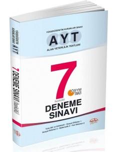 Editör Yayınları AYT 7 Deneme Sınavı