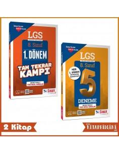 Sınav Yayınları 8. Sınıf LGS 1. Dönem Tekrar Seti (2 Kitap)