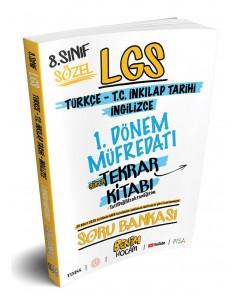 Benim Hocam 8. Sınıf LGS 1. Dönem Sözel Süper Tekrar Kitabı