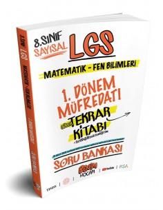 Benim Hocam 8. Sınıf LGS 1. Dönem Sayısal Süper Tekrar Kitabı