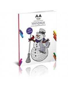Akıllı Adam Mandala Renklerin Doğası Çocuklar İçin Boyama Kitabı