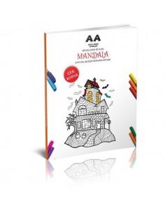 Akıllı Adam Mandala Renklerin Rüyası Çocuklar İçin Boyama Kitabı