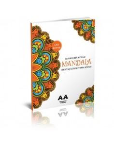 Akıllı Adam Mandala Renklerin Rüyası Her Yaş İçin Boyama Kitabı