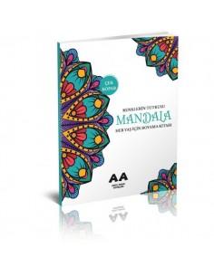Akıllı Adam Mandala Renklerin Tutkusu Her Yaş İçin Boyama Kitabı