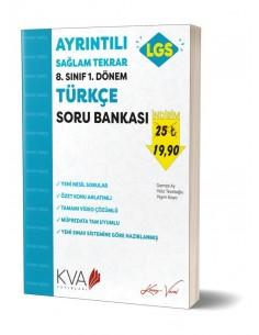 Koray Varol 8. Sınıf LGS 1. Dönem Türkçe Ayrıntılı Sağlam Tekrar Kitabı