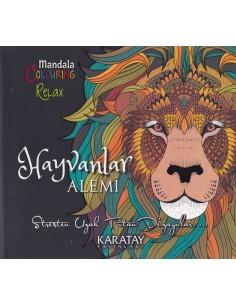 Karatay Yayınları Mandala Hayvanlar Alemi