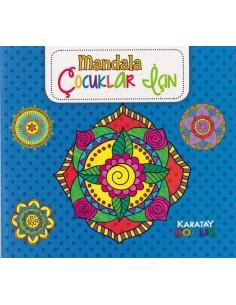 Karatay Yayınları Mandala Çocuklar İçin Mavi