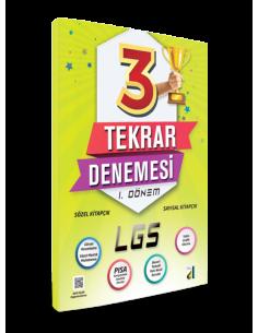 Damla Yayınları 8. Sınıf LGS 1. Dönem 3 Tekrar Denemesi