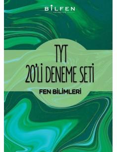 Bilfen Yayınları TYT Fen Bilimleri 20'li Deneme Seti