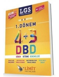 Limit Yayınları 8. Sınıf LGS 1. Dönem 4+3 Bitirme Denemeleri