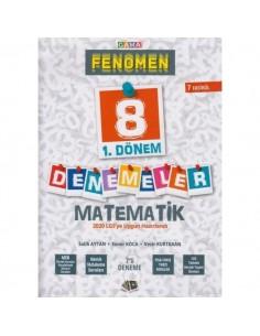 Gama Okul 8. Sınıf LGS 1. Dönem Fenomen Matematik 7 Deneme