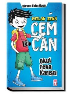 Timaş Yayınları Patlak Zeka Cemcan Okul Fena Karıştı