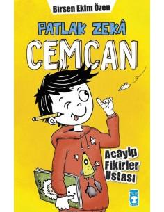 Timaş Yayınları Patlak Zeka Cemcan Acayip Fikirler Ustası