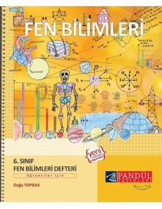 Pandül Yayınları 6.Fen Bilimleri  Etkinlik Defteri