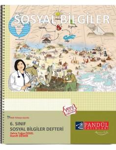 Pandül Yayınları 6. Sosyal Bilgiler Defteri