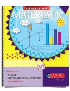 Pandül Yayınları 7. Sınıf Matematik  Etkinlik Defteri