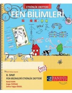 Pandül Yayınları 8. Sınıf Fen Bilimleri Etkinlik  Defteri