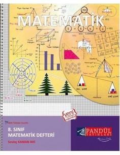 Pandül Yayınları 8.Matematik Defteri