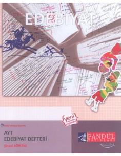 Pandül Yayınları AYT Edebiyat Defteri