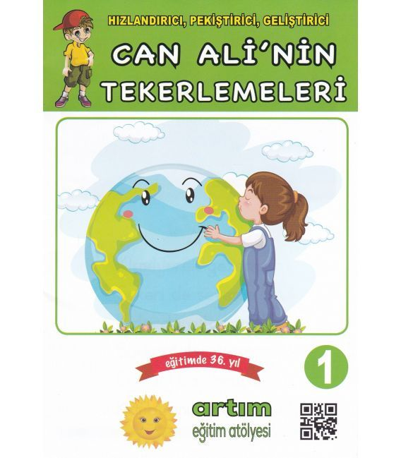 Can Ali'nin Tekerlemeleri Set (7 Kitap) Artım Eğitim Atölyesi